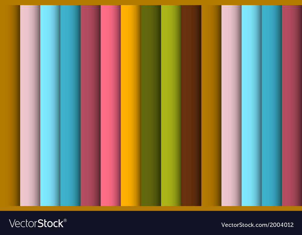 Abstract retro colorful seamless background vector | Price: 1 Credit (USD $1)