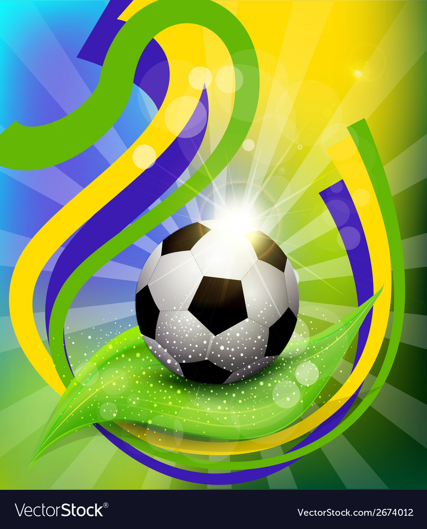 Background on 2014 soccer brasil vector | Price: 1 Credit (USD $1)
