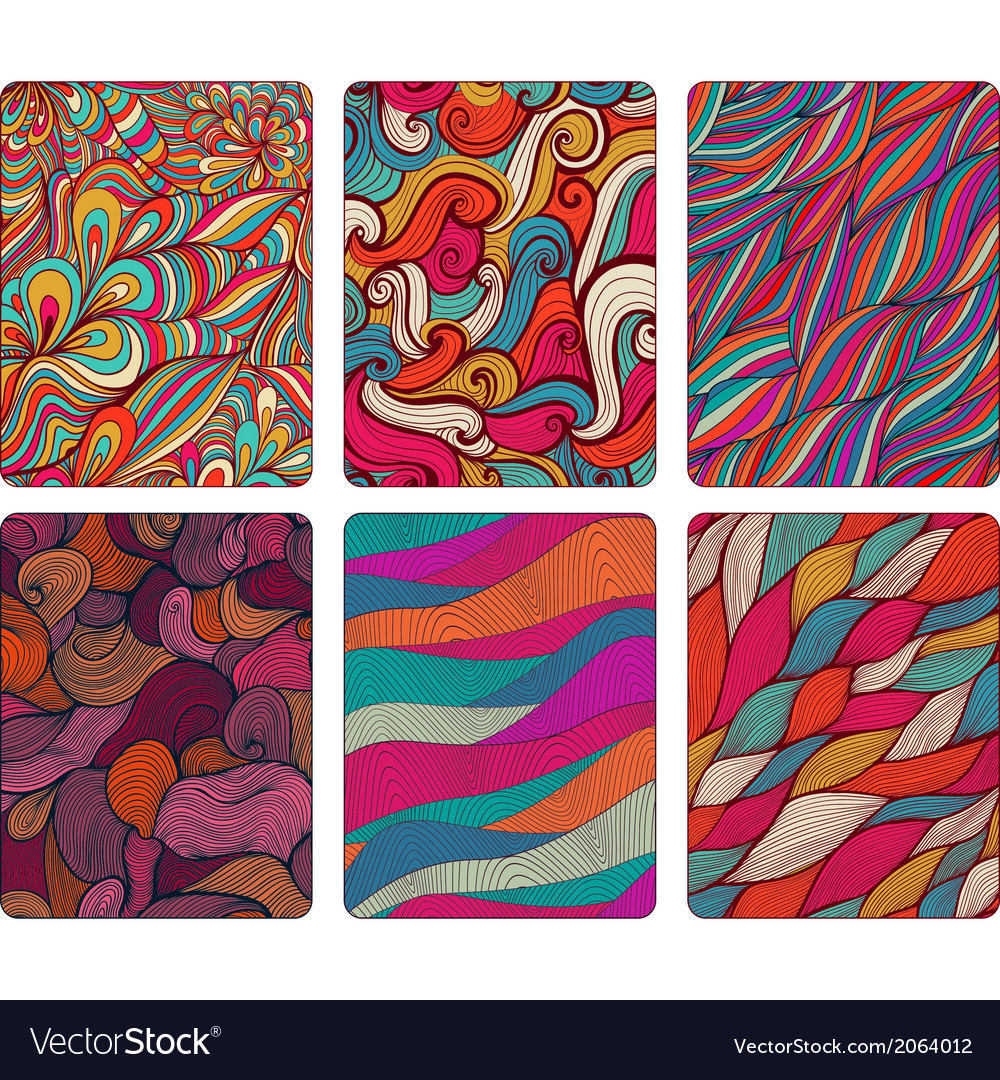 Fashion tablet skins modern abstract backgrounds vector | Price: 1 Credit (USD $1)
