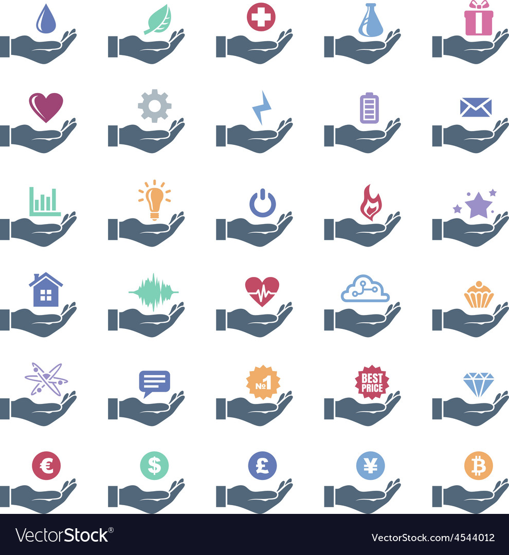Icon set vector | Price: 1 Credit (USD $1)