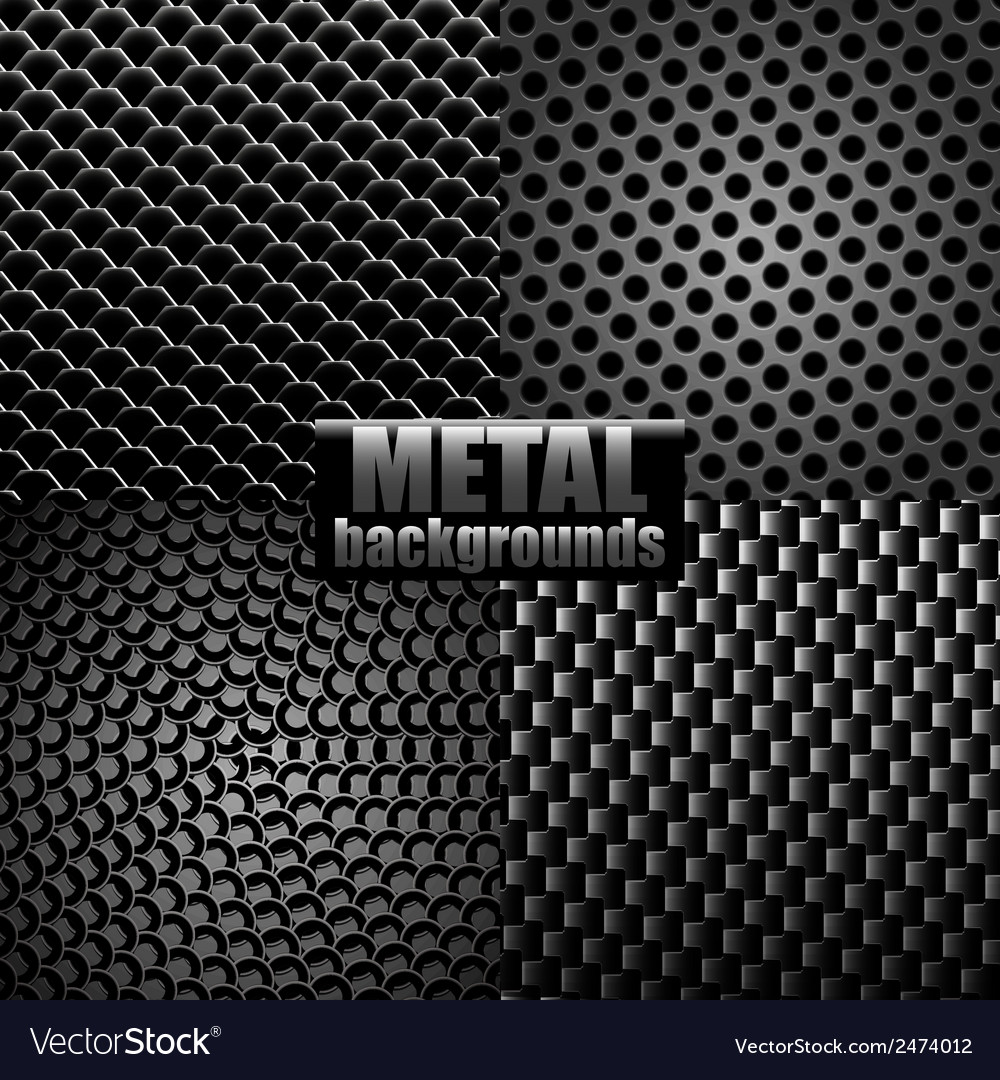 Metal backgrounds vector | Price: 1 Credit (USD $1)