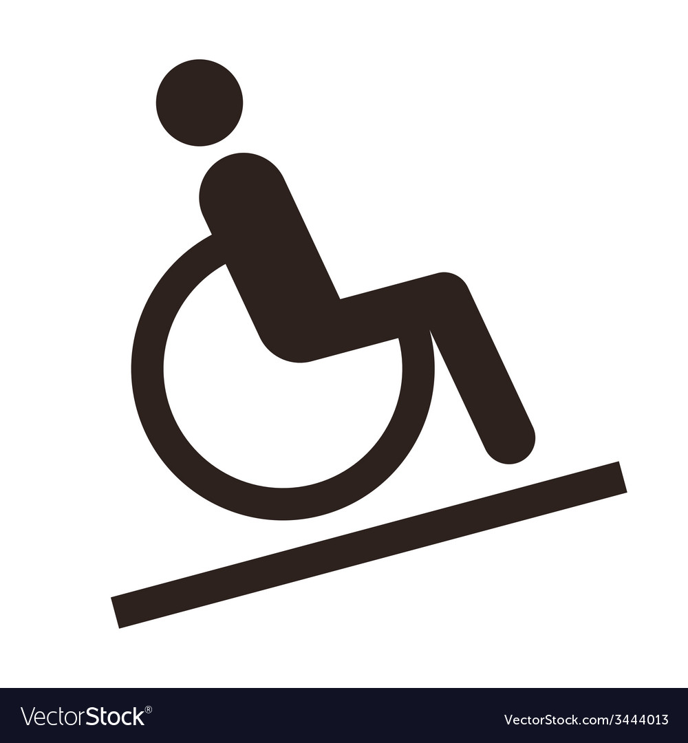 Disabled sign - facilities for disabled vector | Price: 1 Credit (USD $1)