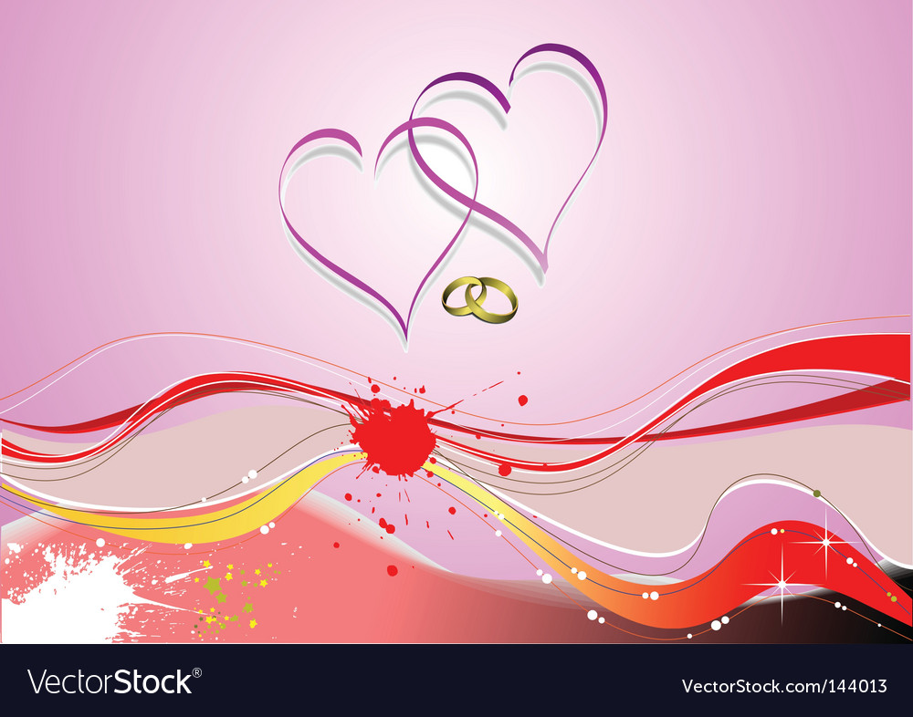 Love waves vector | Price: 1 Credit (USD $1)