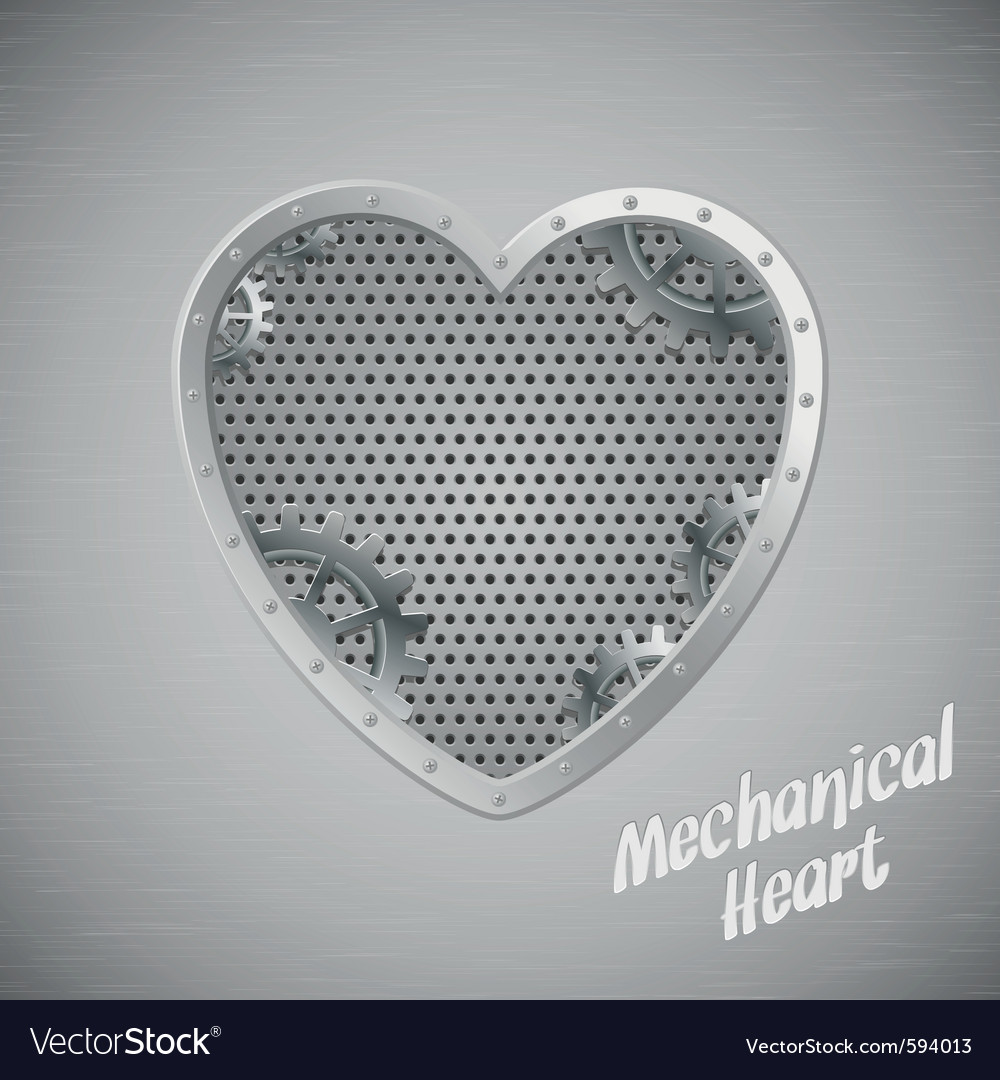 Mechanical heart vector | Price: 1 Credit (USD $1)