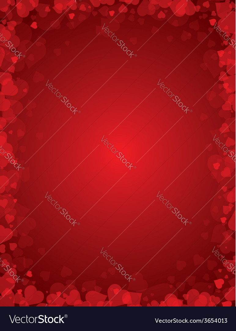 Red background for valentines day vector | Price: 1 Credit (USD $1)