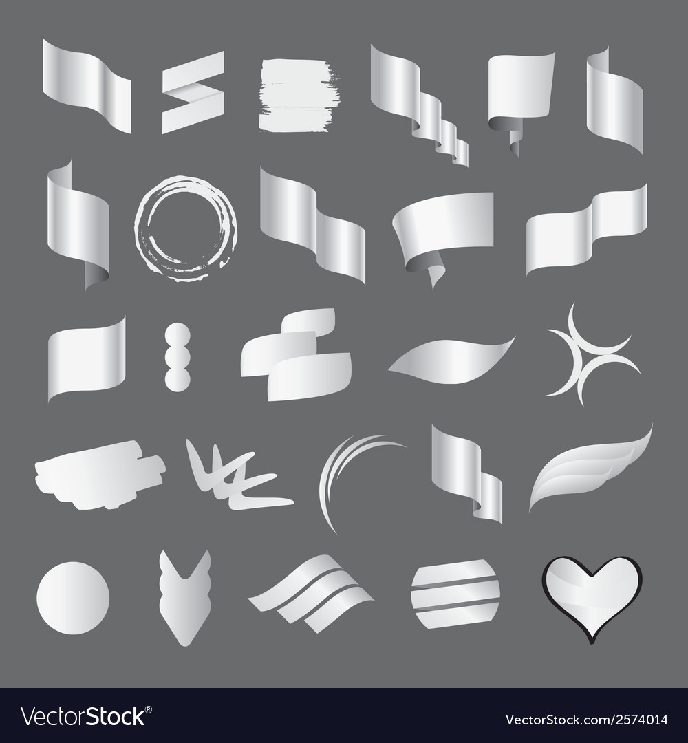 Biggest collection of white flags vector | Price: 1 Credit (USD $1)