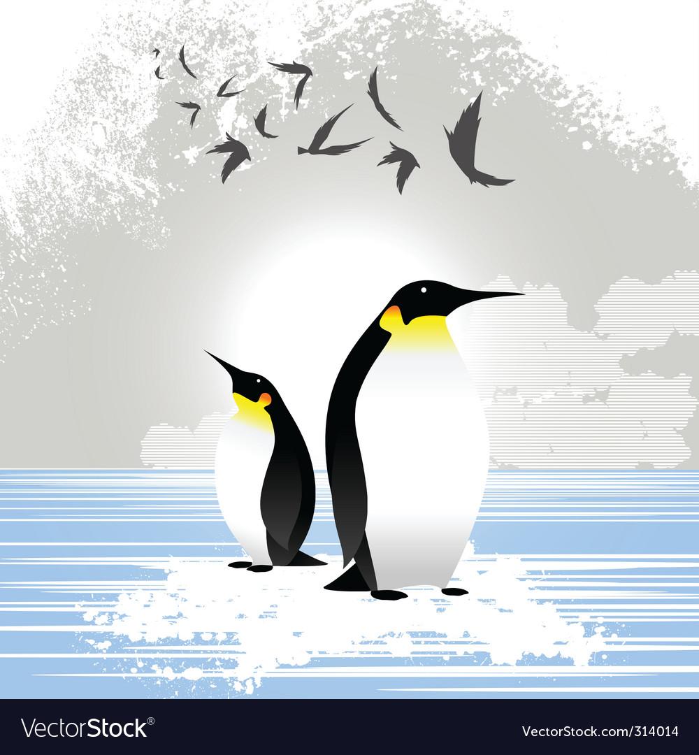 Penguins vector   Price: 1 Credit (USD $1)