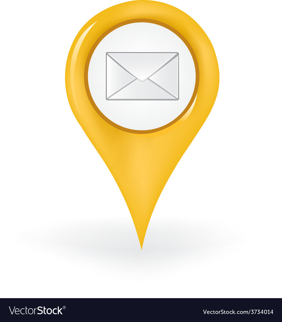 Post office location vector | Price: 1 Credit (USD $1)