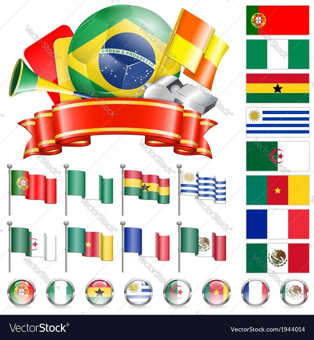 Soccer championship vector | Price: 1 Credit (USD $1)