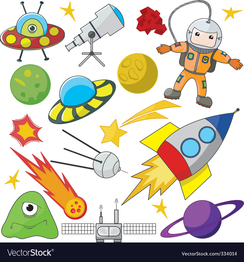 Space exploration vector | Price: 1 Credit (USD $1)