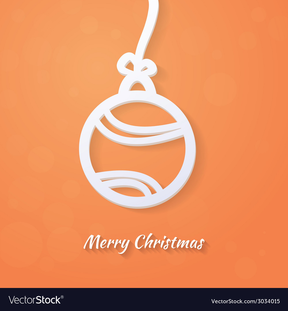 Lacy paper christmas circular elements vector | Price: 1 Credit (USD $1)