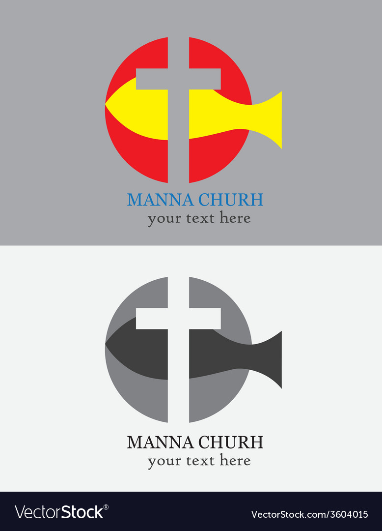 Manna church logo vector | Price: 1 Credit (USD $1)