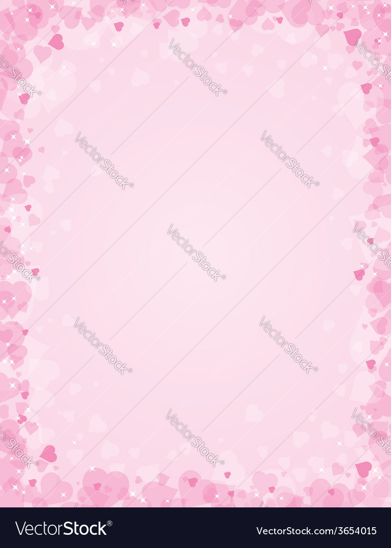 Pink background for valentines day vector | Price: 1 Credit (USD $1)
