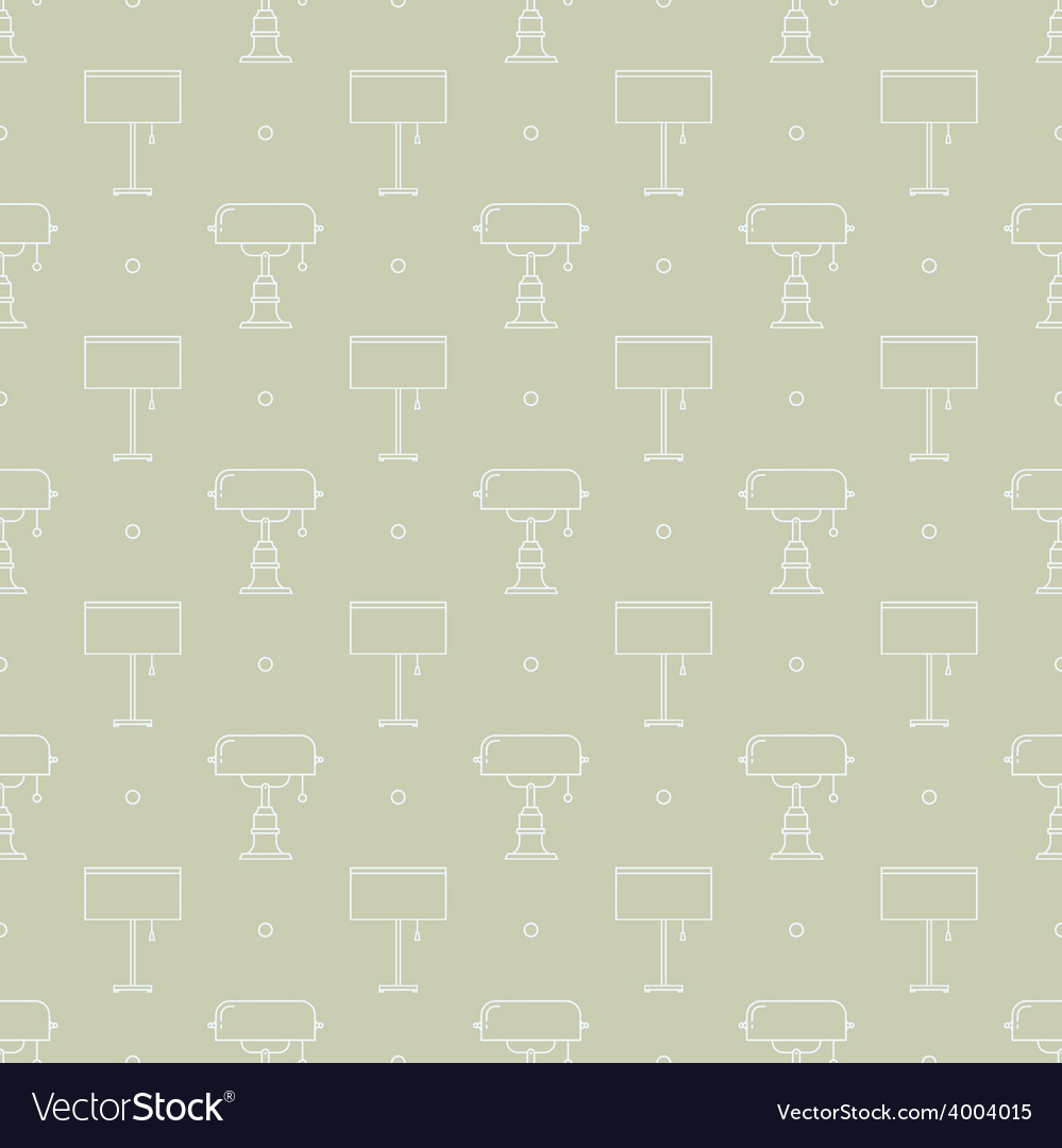Reading lamps pattern vector | Price: 1 Credit (USD $1)