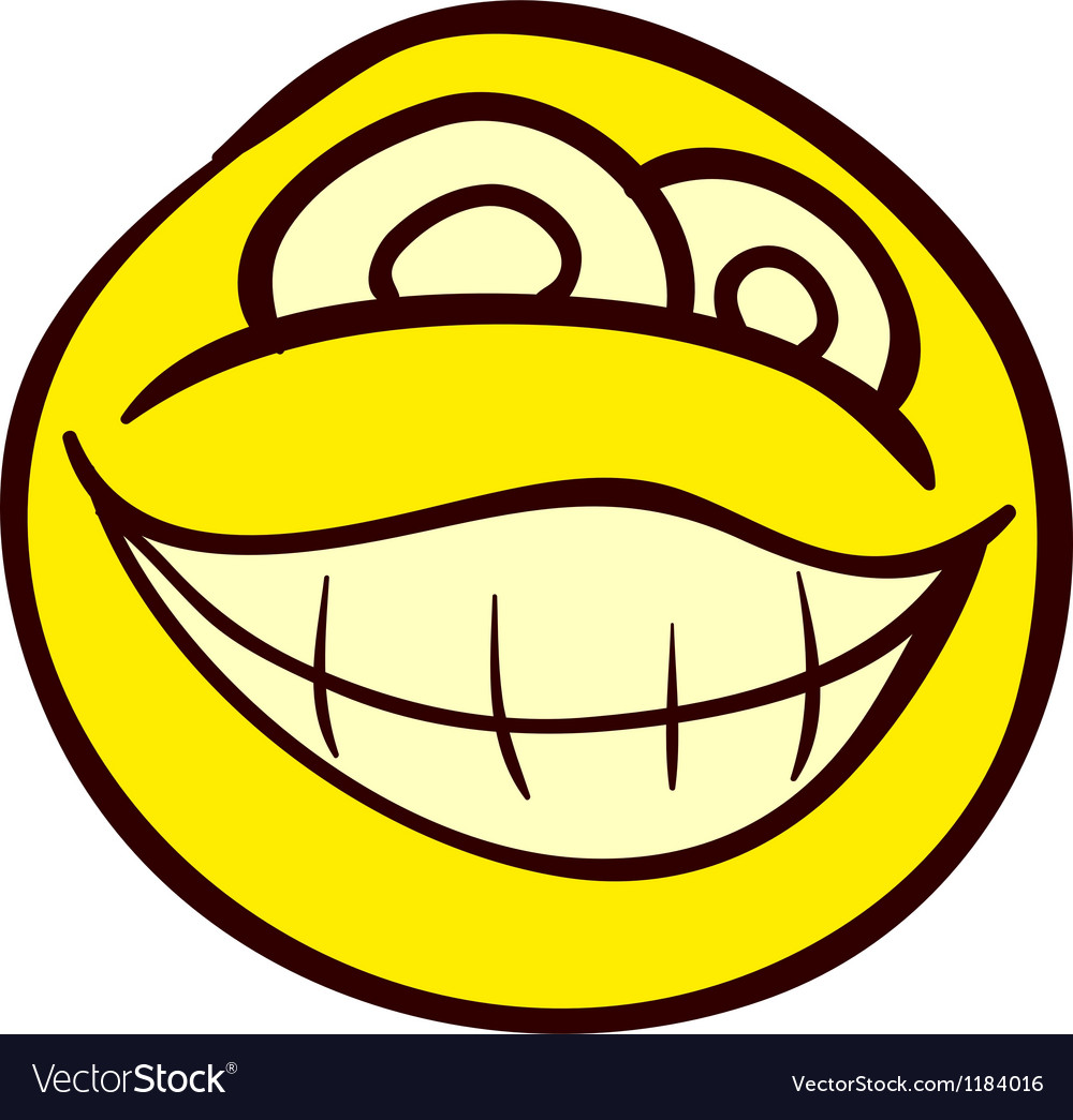 Smiley doodle vector | Price: 1 Credit (USD $1)