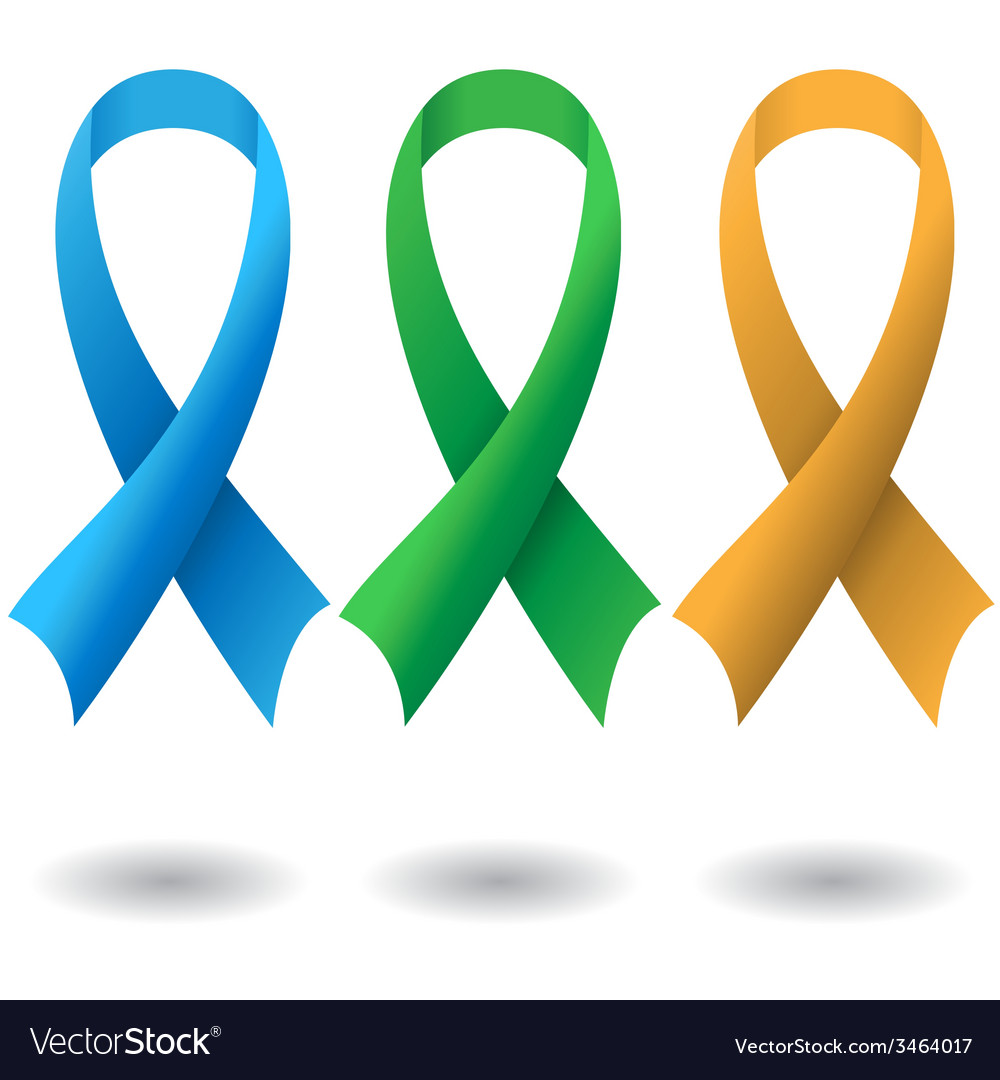 Aids ribbons vector | Price: 1 Credit (USD $1)