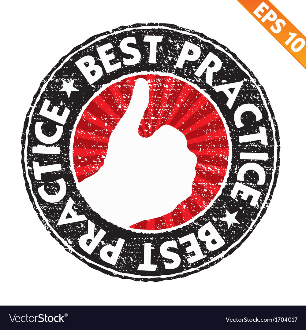 Stamp sticker best practice collection - - vector | Price: 1 Credit (USD $1)