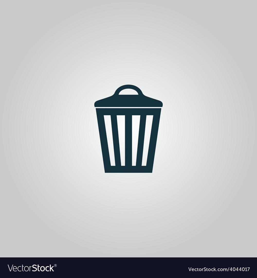 Trash can icon eps10 vector   Price: 1 Credit (USD $1)