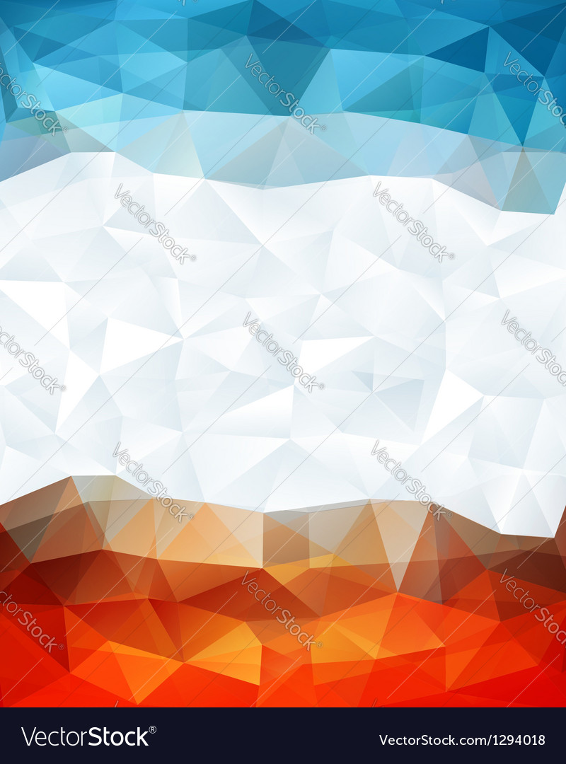 Abstract geometric polygonal background vector | Price: 1 Credit (USD $1)