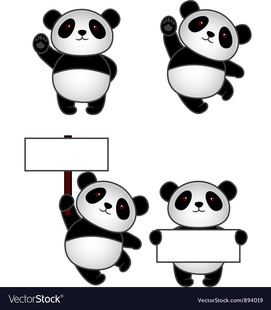 Funny panda cartoon vector   Price: 3 Credit (USD $3)