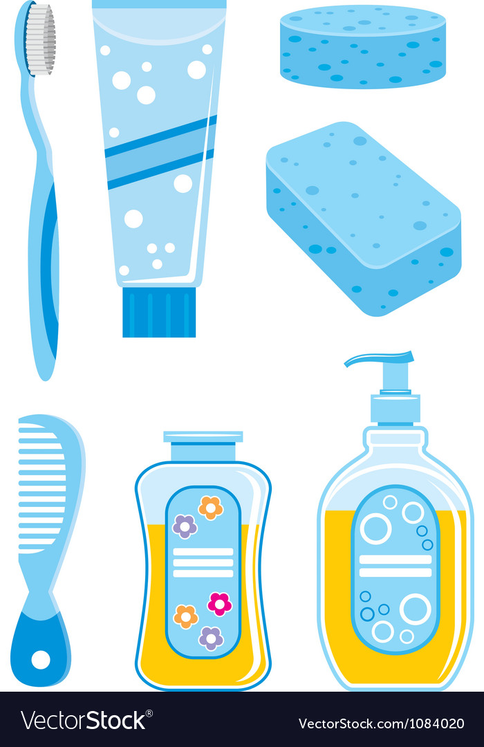 Set of things for bathing vector   Price: 1 Credit (USD $1)