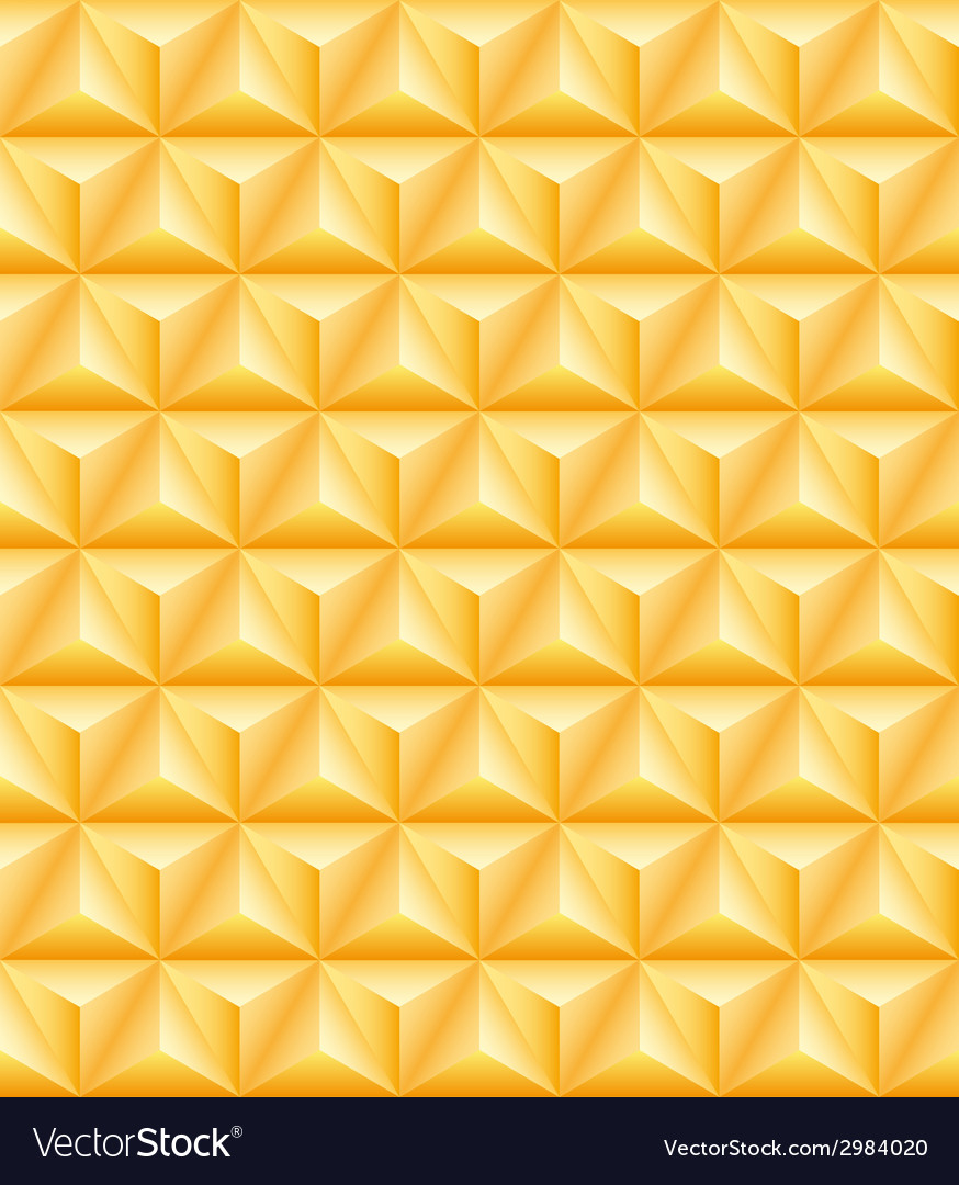 Tripartite golden pyramid seamless texture vector | Price: 1 Credit (USD $1)