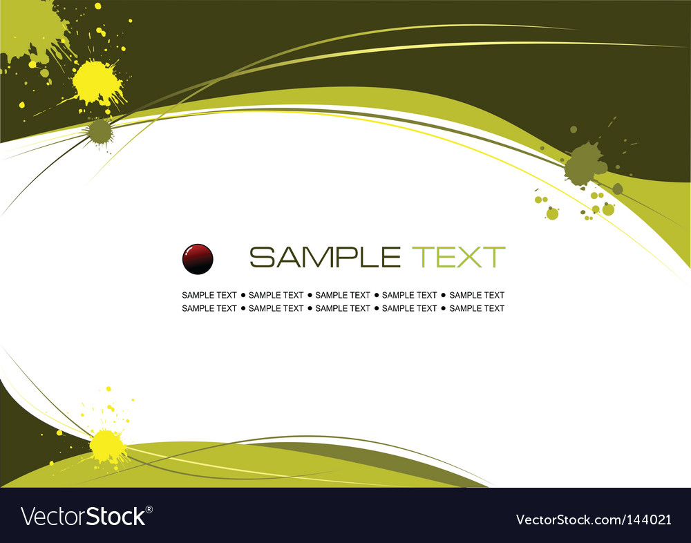 Copy space background vector