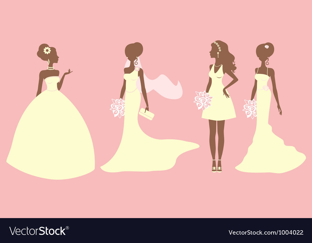 Bridal outfits vector | Price: 1 Credit (USD $1)