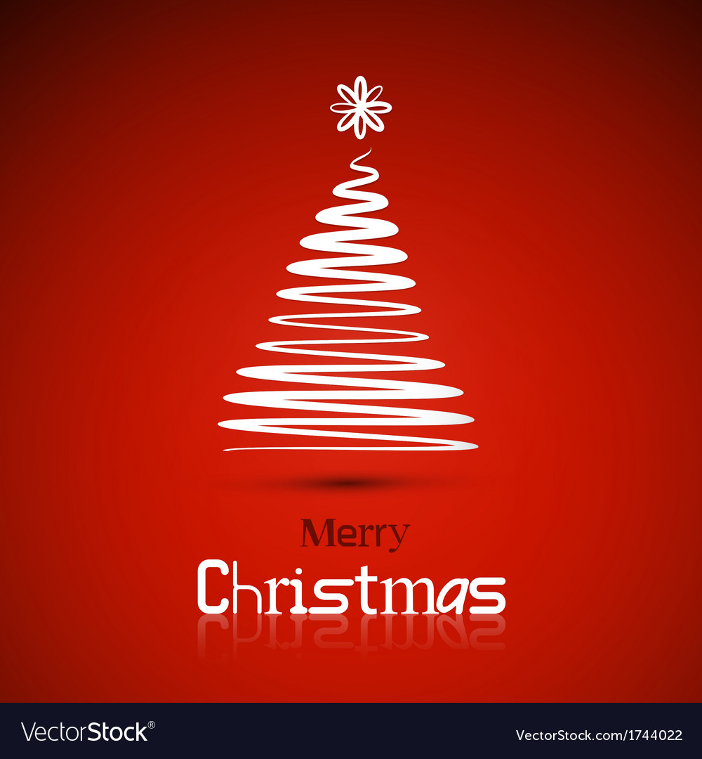 Christmas theme red background vector | Price: 1 Credit (USD $1)