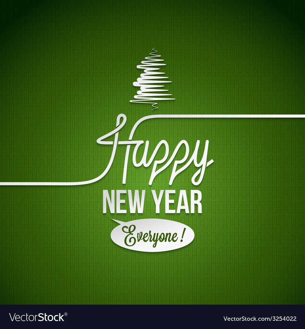 New year vintage background vector | Price: 1 Credit (USD $1)