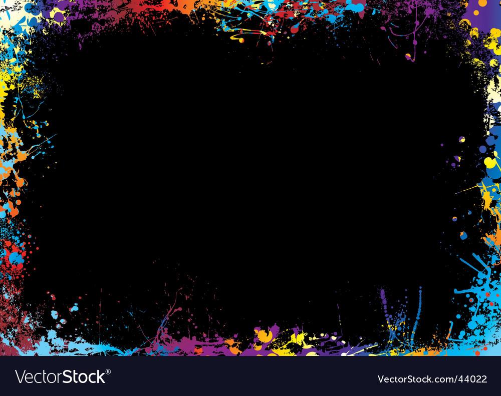 Rainbow border vector | Price: 1 Credit (USD $1)