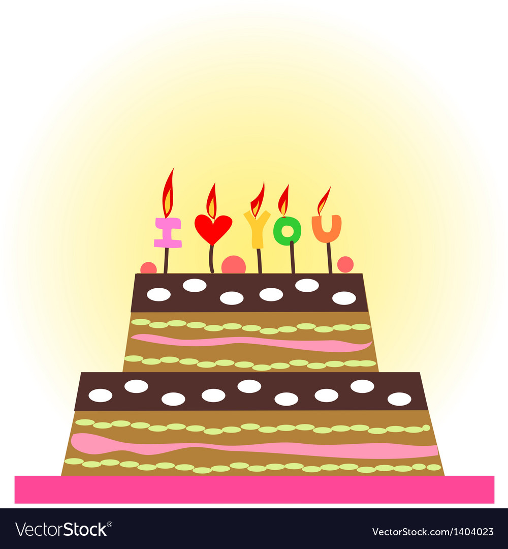 A cake for party vector | Price: 1 Credit (USD $1)