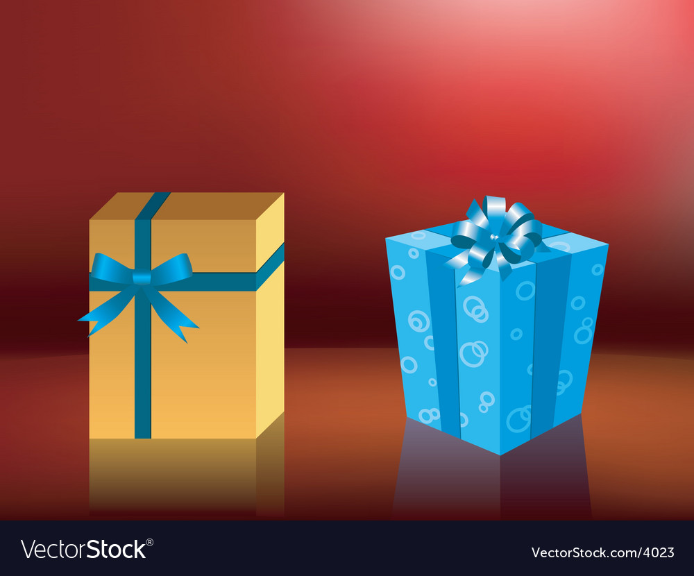 Cute holiday gift boxes vector   Price: 1 Credit (USD $1)