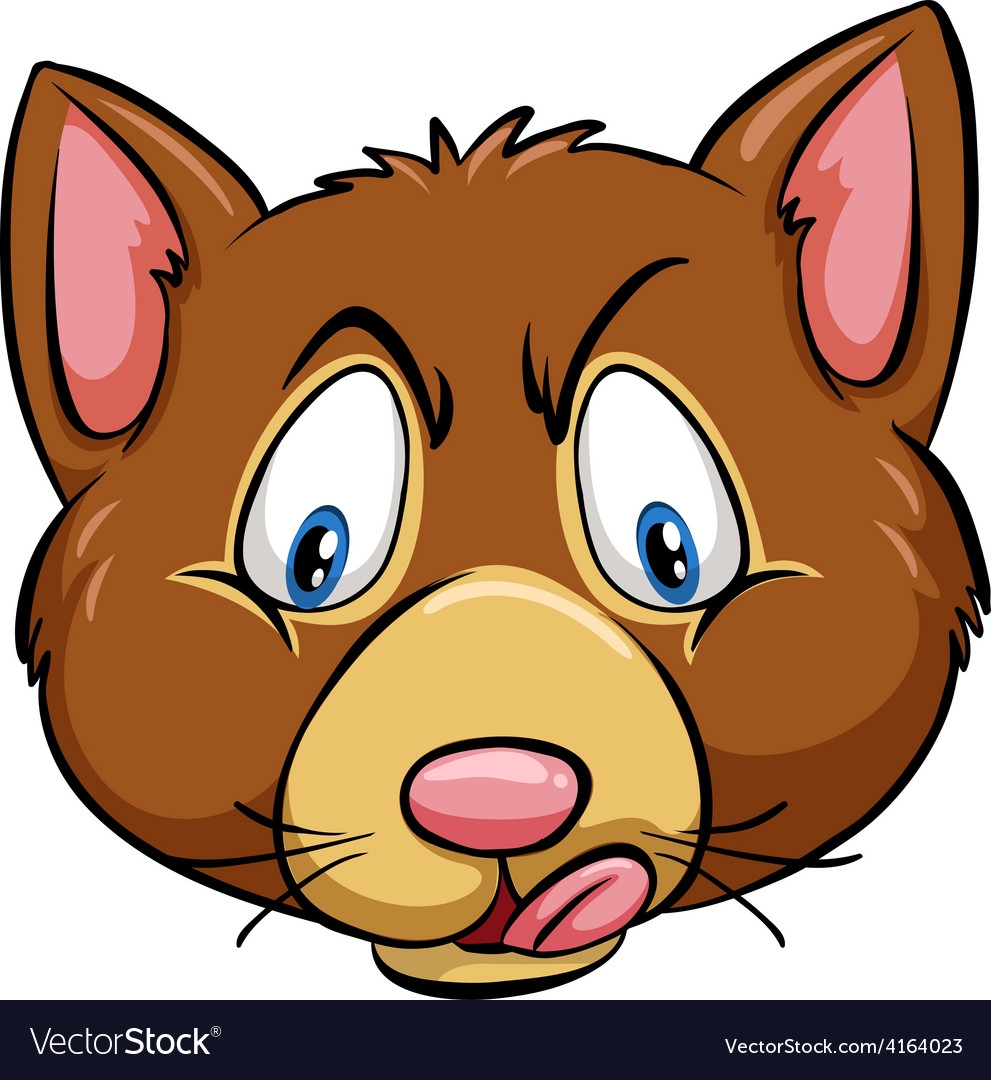 Head of a dog vector | Price: 1 Credit (USD $1)