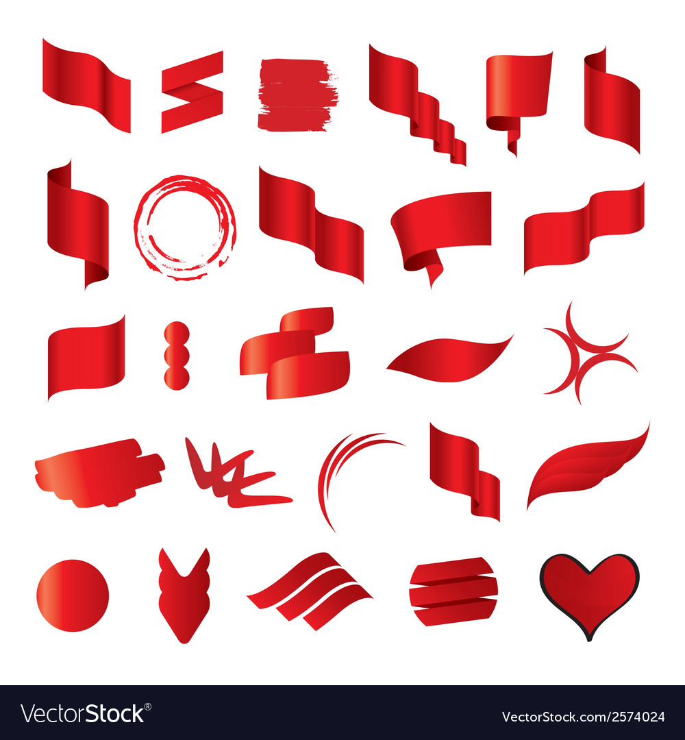 Biggest collection of red flags vector | Price: 1 Credit (USD $1)