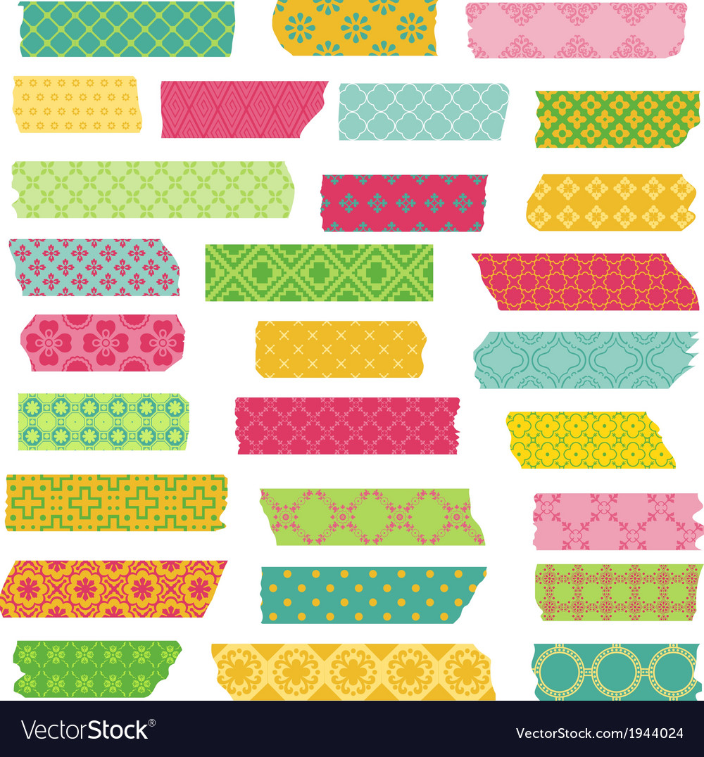 Set of ribbons and stickers vector | Price: 1 Credit (USD $1)