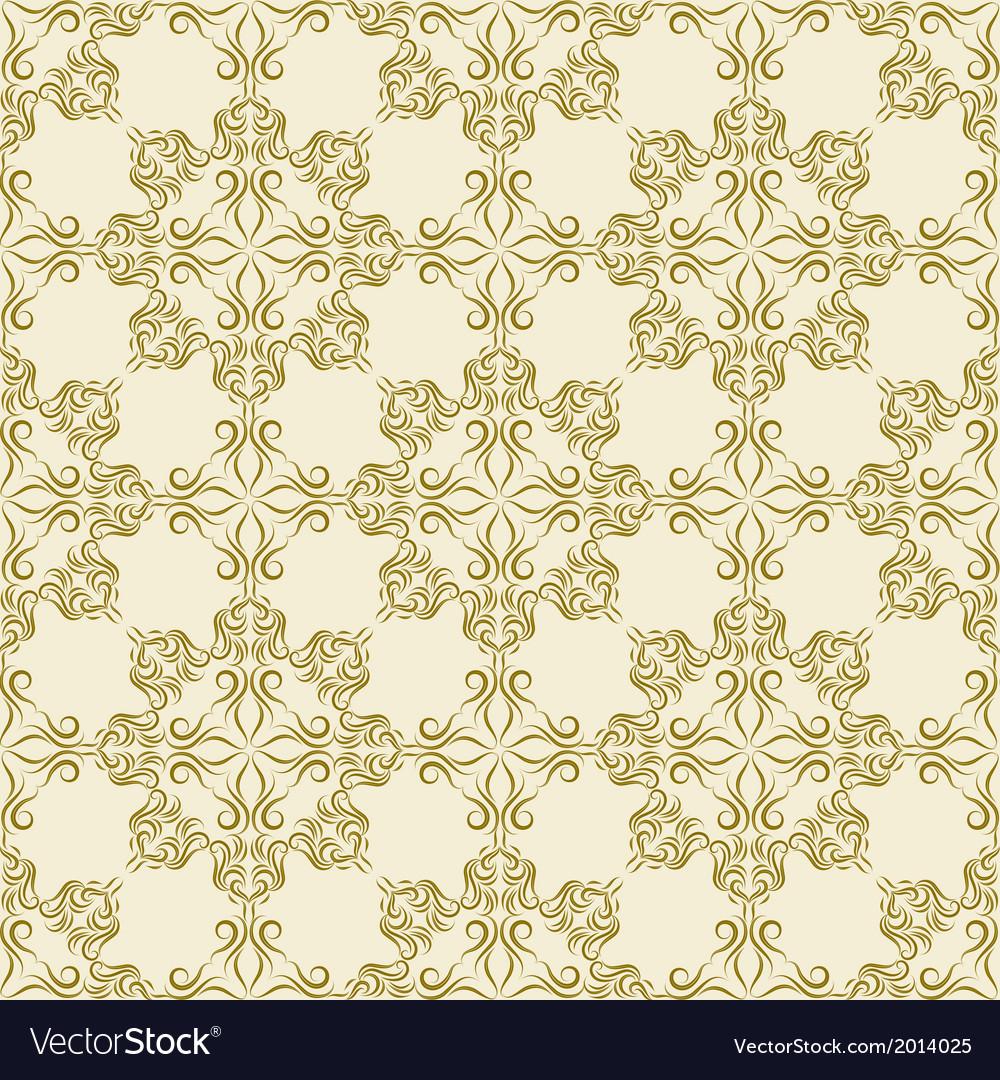 Damask wallpaper vector | Price: 1 Credit (USD $1)