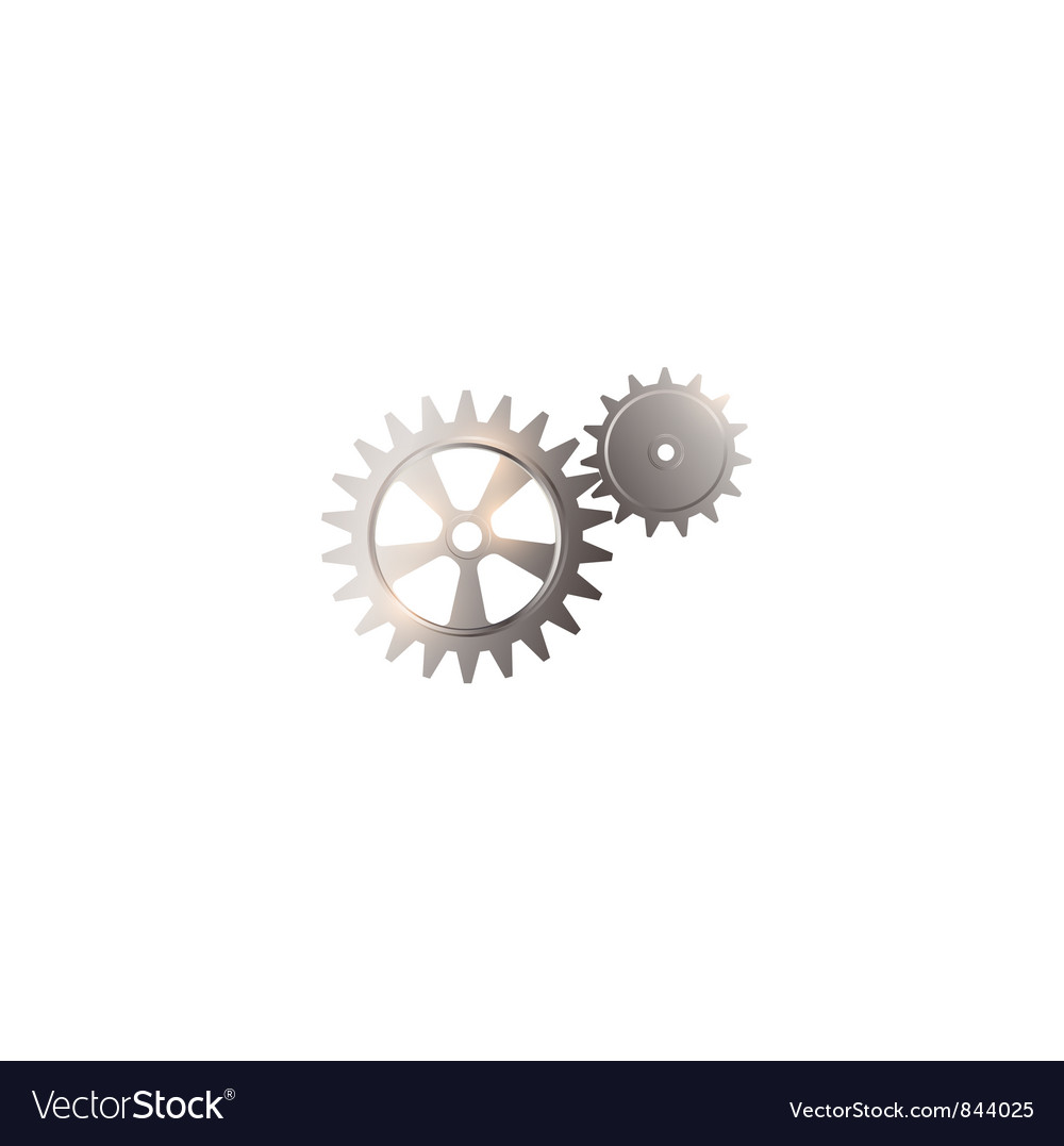 Gear system vector | Price: 1 Credit (USD $1)