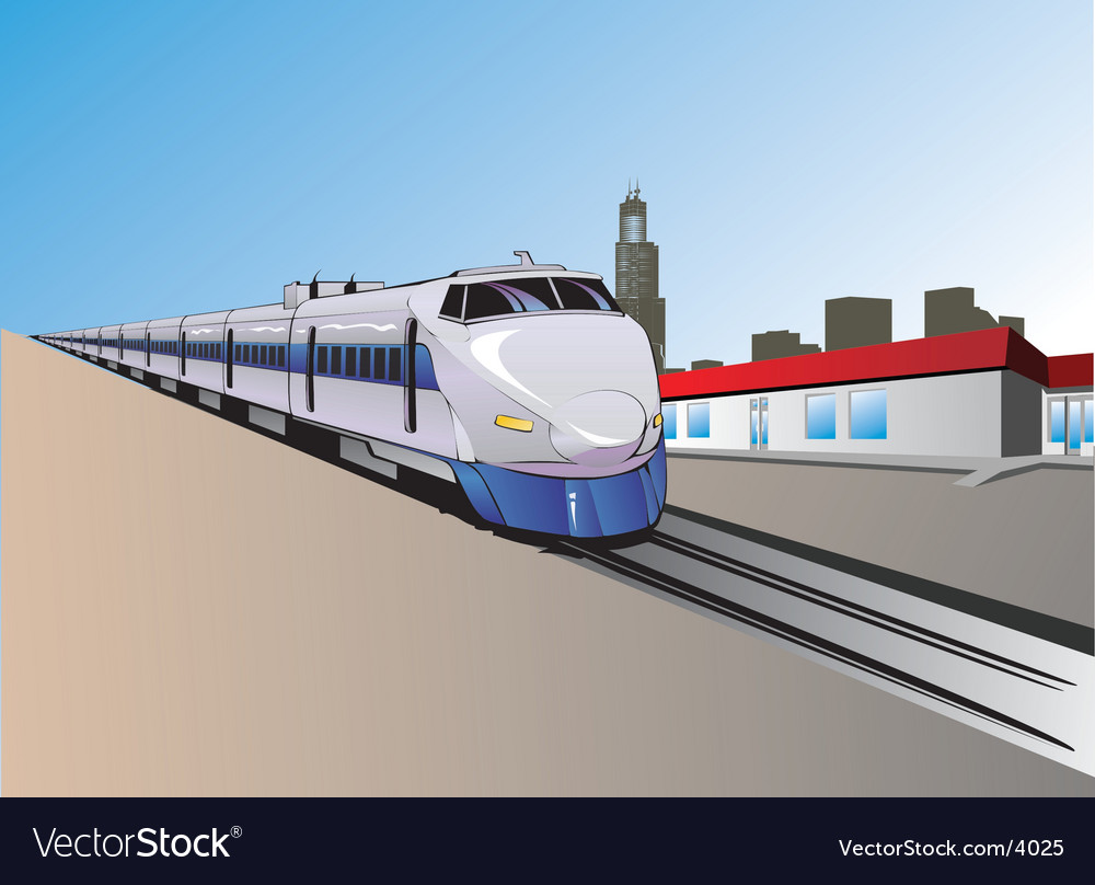 Train illustration vector | Price: 3 Credit (USD $3)