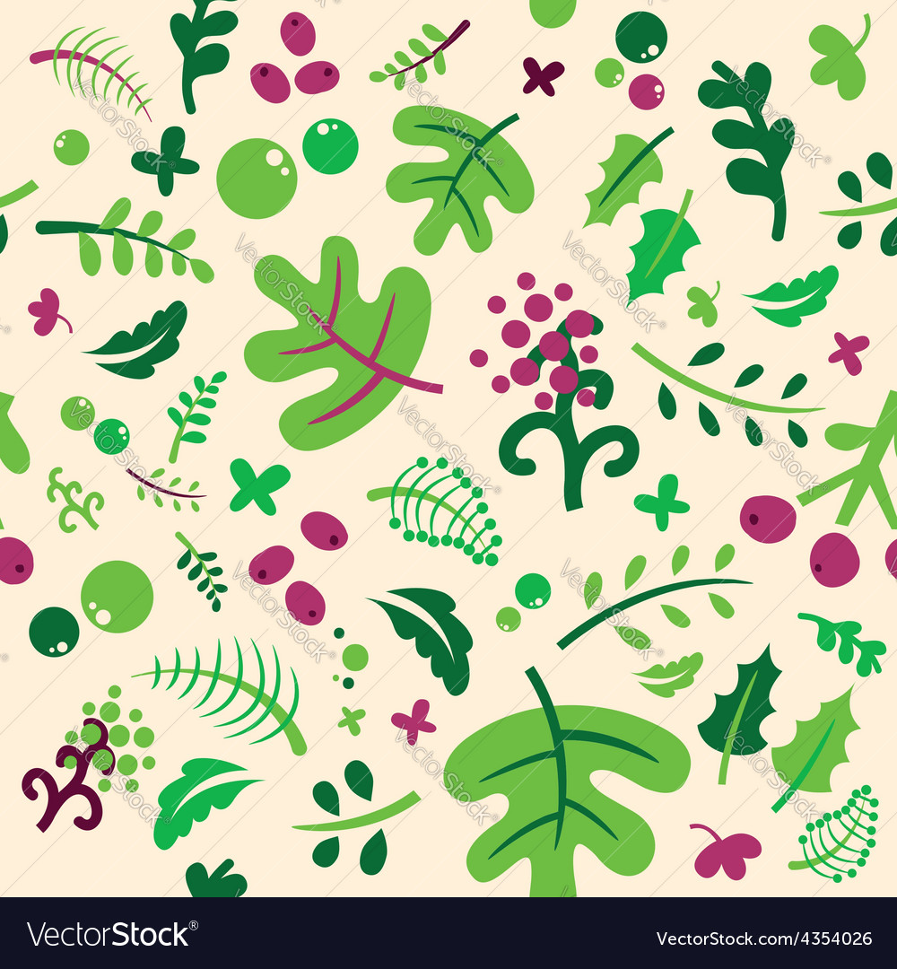 Set of elements of spring vector | Price: 1 Credit (USD $1)