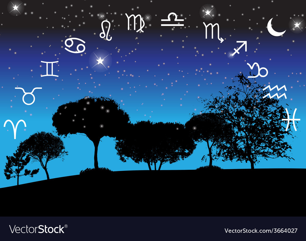 Set of symbol zodiac sign vector | Price: 1 Credit (USD $1)