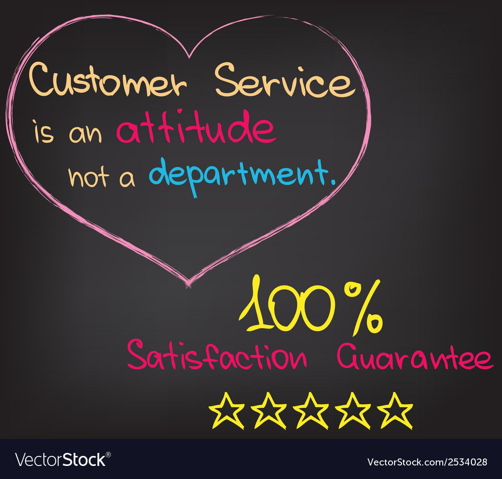 Customer service approach vector | Price: 1 Credit (USD $1)