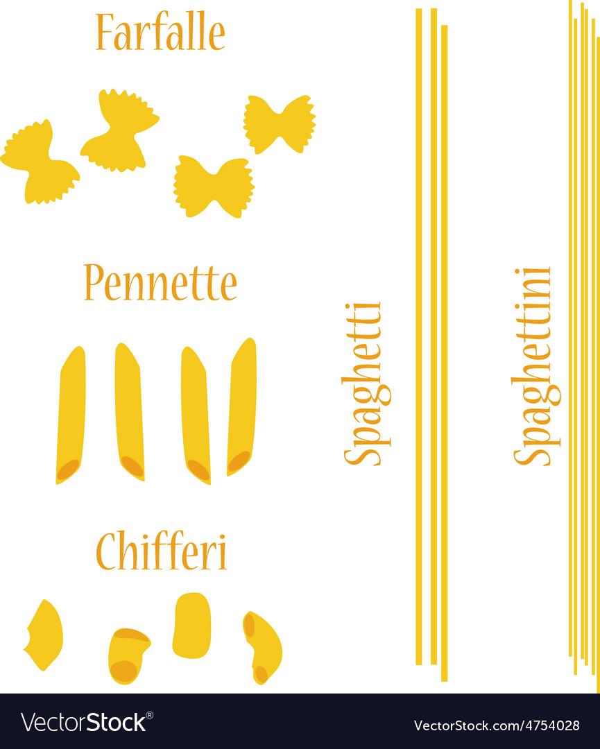 Macaroni set vector | Price: 1 Credit (USD $1)