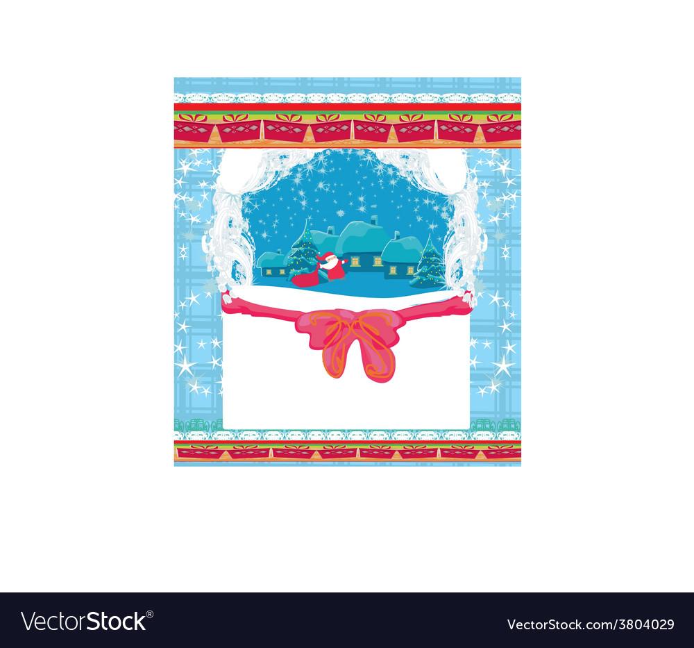 Funny santa claus vector | Price: 1 Credit (USD $1)