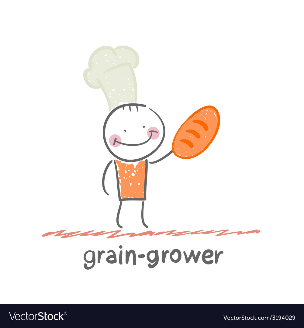 Grain grower vector | Price: 1 Credit (USD $1)