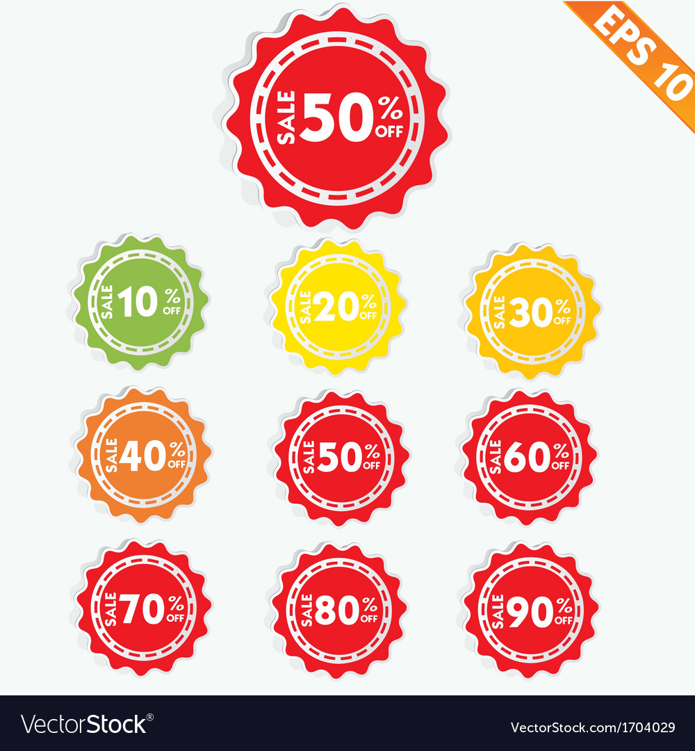 Label sale tag - - eps10 vector   Price: 1 Credit (USD $1)