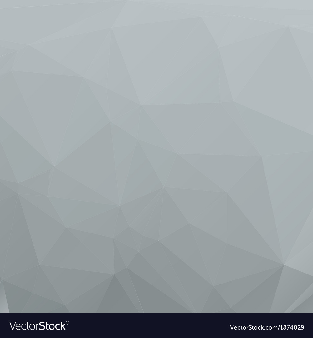 Polygon abstract gray background for your design vector | Price: 1 Credit (USD $1)