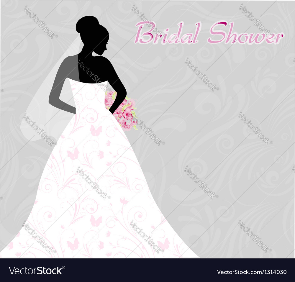Bridal shower vector | Price: 1 Credit (USD $1)
