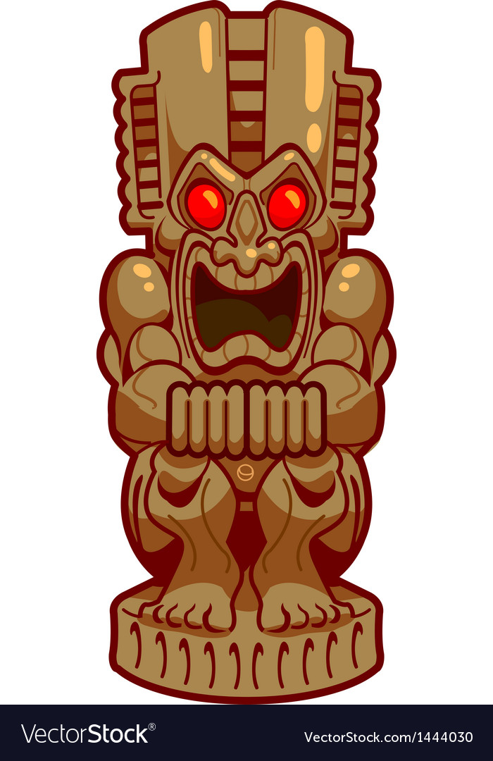 Tiki vector | Price: 1 Credit (USD $1)