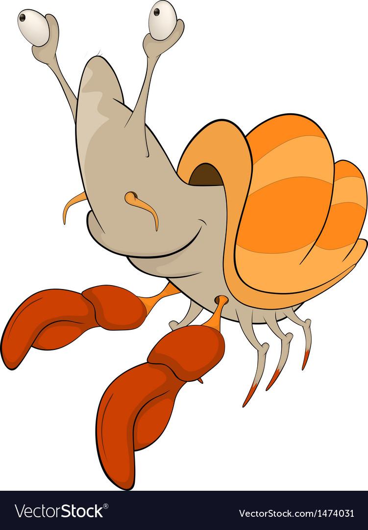 Crab cartoon vector | Price: 1 Credit (USD $1)